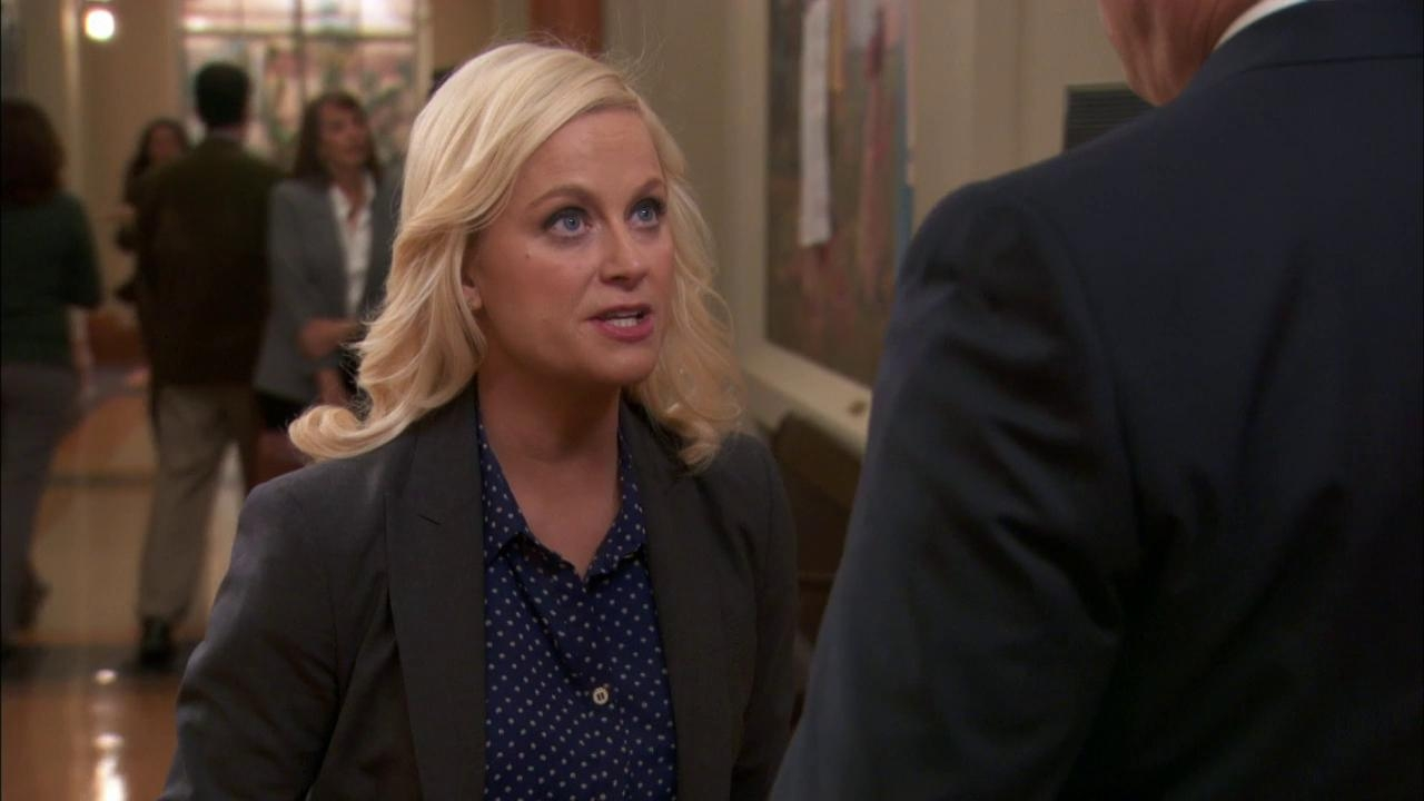 Parks And Recreation: Leslie With Councilman Pillner