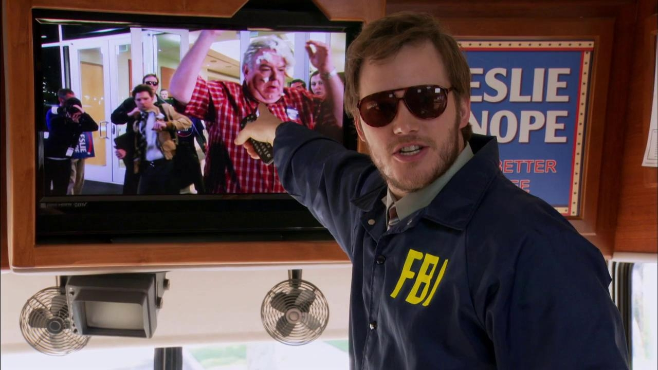 Parks And Recreation: Andy Is Handling Security
