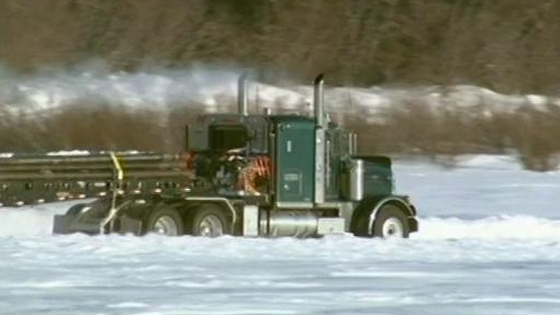 Ice Road Truckers: The Big Blizzard