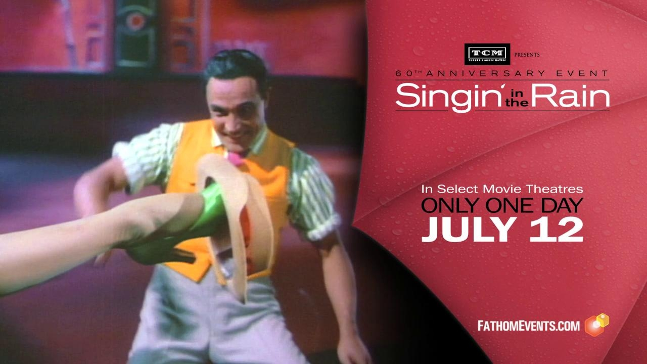 Turner Classic Movies Presents Singin' In The Rain 60th Anniversary Event