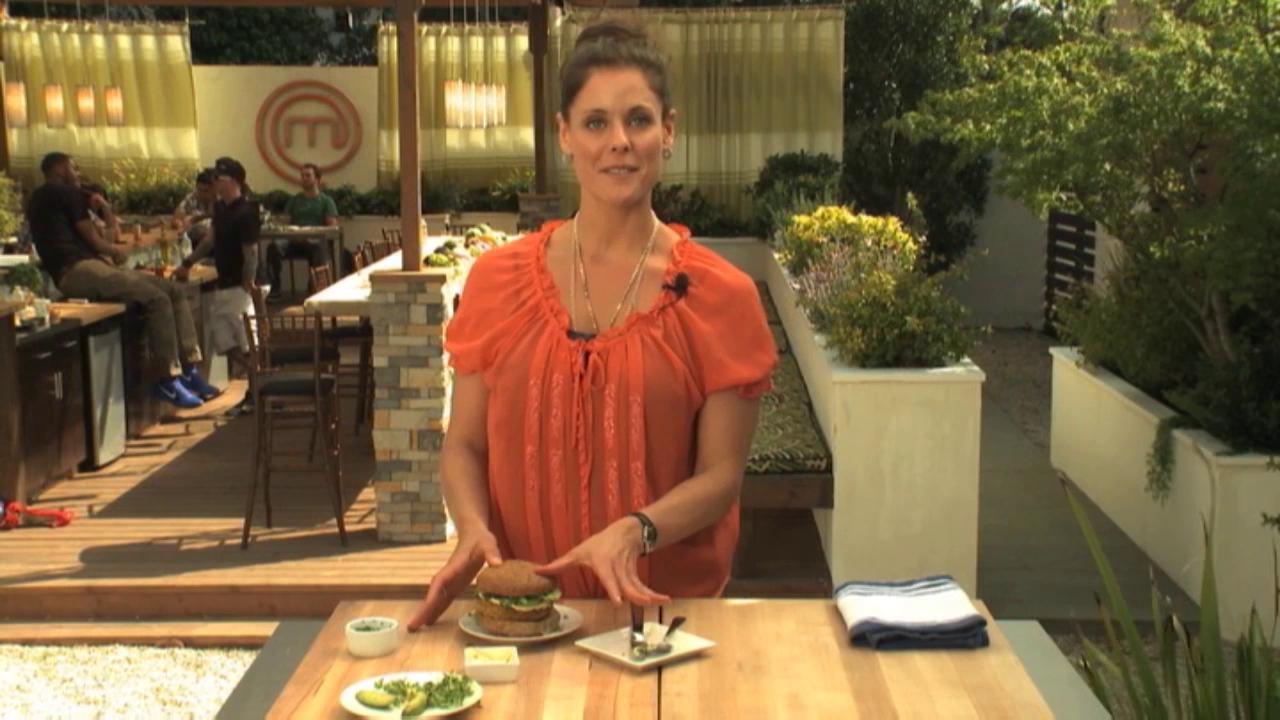 Masterchef: Extra Helpings Burger Time Helene