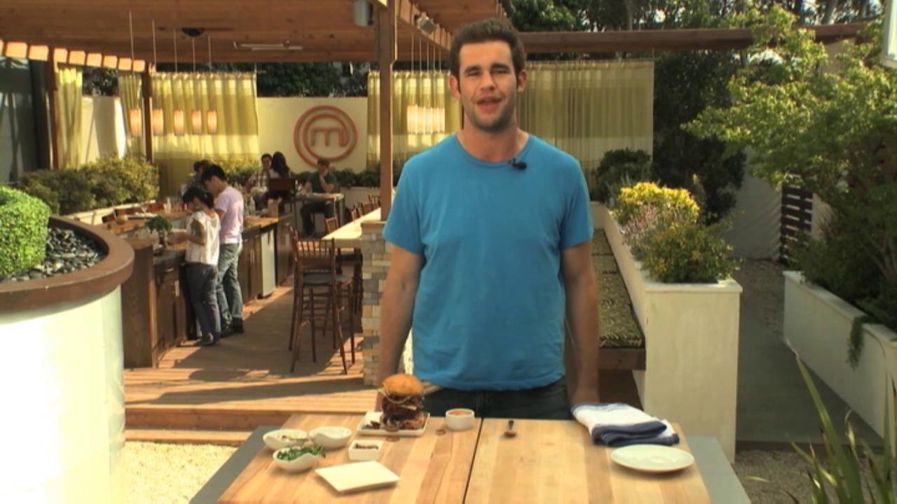 Masterchef: Extra Helpings Burger Time Ryan