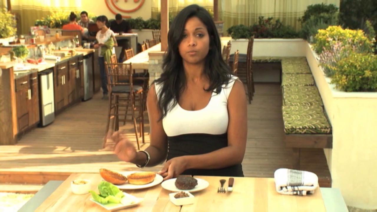 Masterchef: Extra Helpings Burger Time Samantha