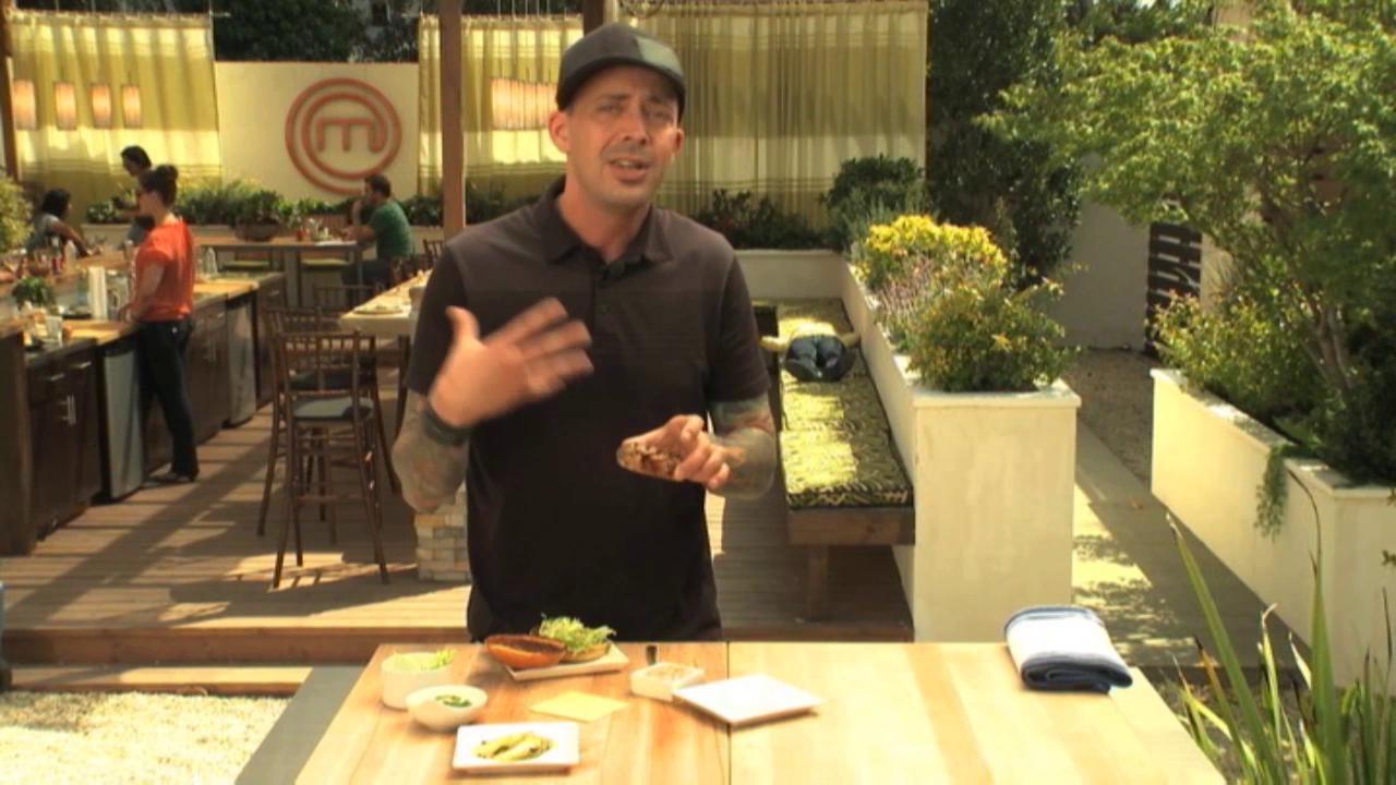 Masterchef: Extra Helpings Burger Time Scott