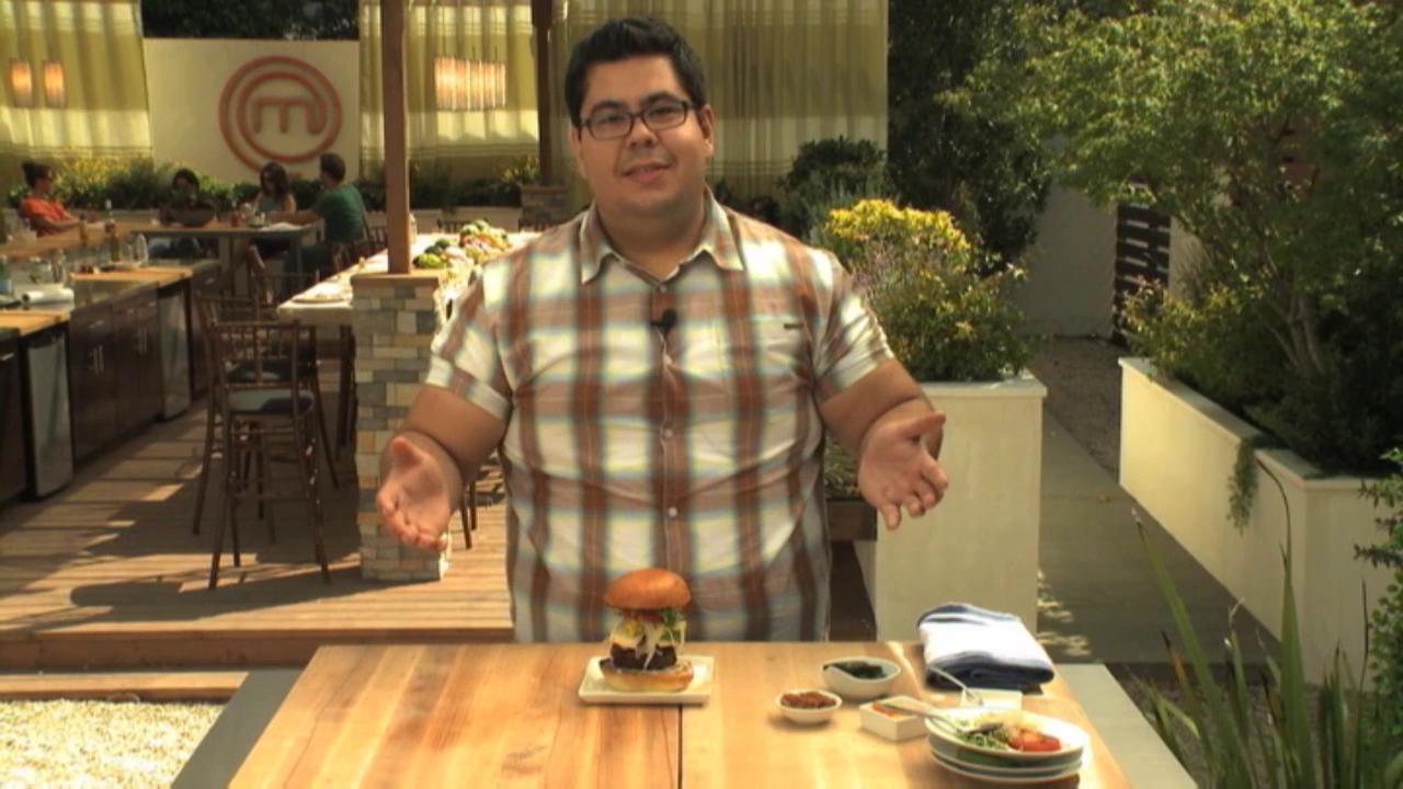 Masterchef: Extra Helpings Burger Time David Martinez