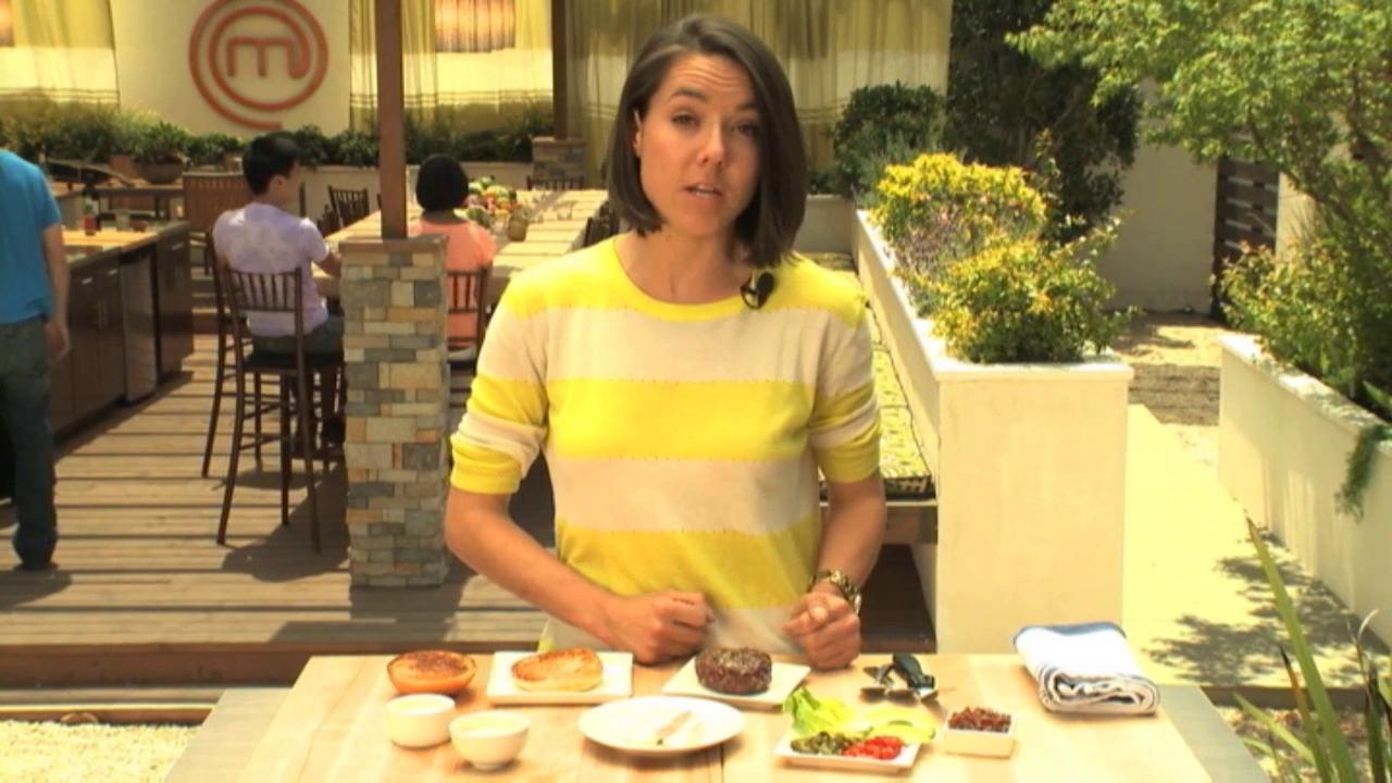 Masterchef: Extra Helpings Burger Time Becky