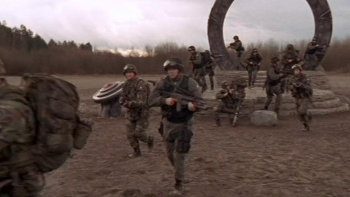 Stargate Sg-1: Into The Fire