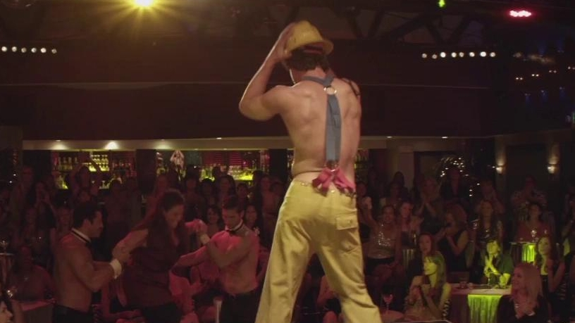 Magic Mike: Fireman Dance