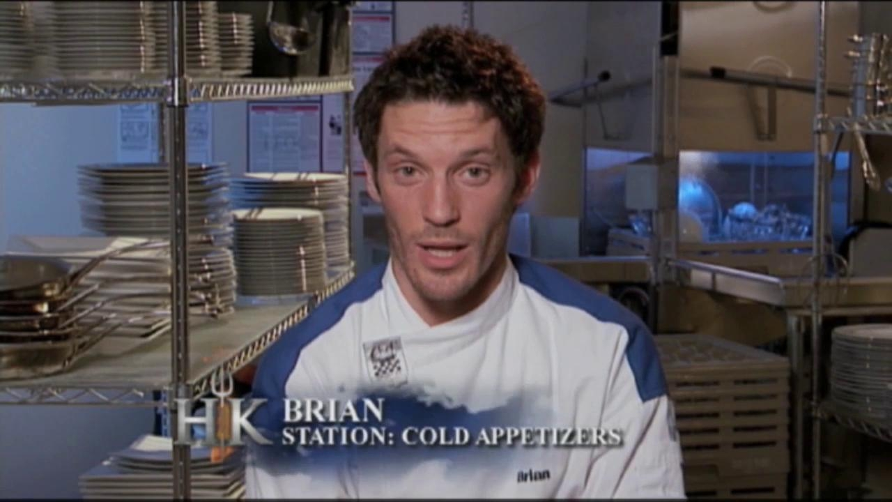 Hell's Kitchen: Brian's Comical Voices Are Starting To Make The Other's Boil