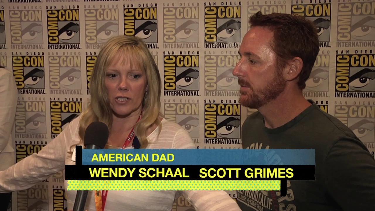 American Dad!: Cc 2012 Press Wendy Schaal Scott Grimes