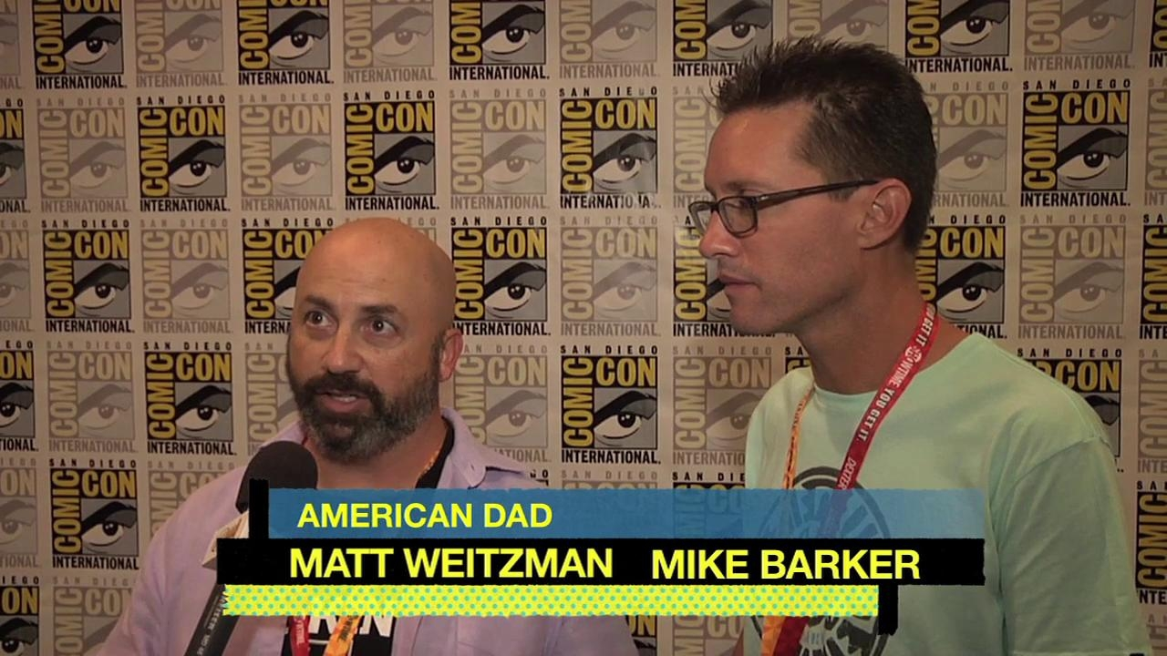 American Dad!: Cc 2012 Press Matt Weitzman Mike Barker