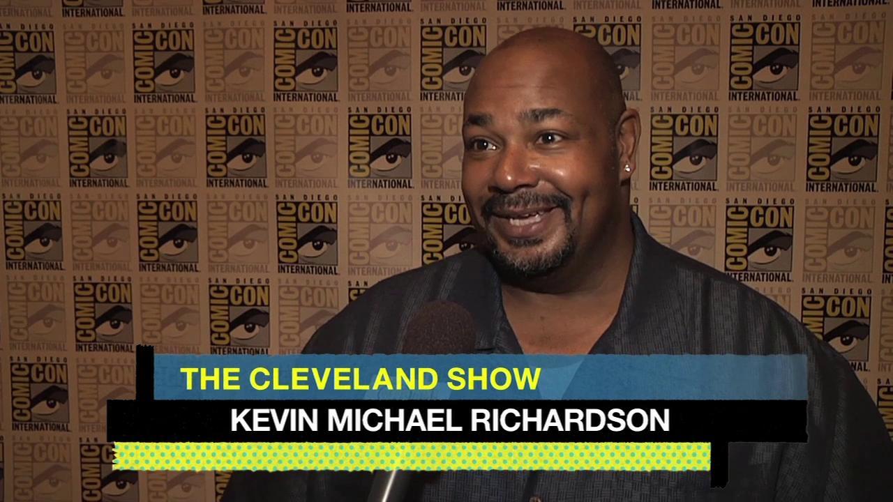 The Cleveland Show: Cc 2012 Press 2 Regan Gomez-Preston Kevin Michael Richardson