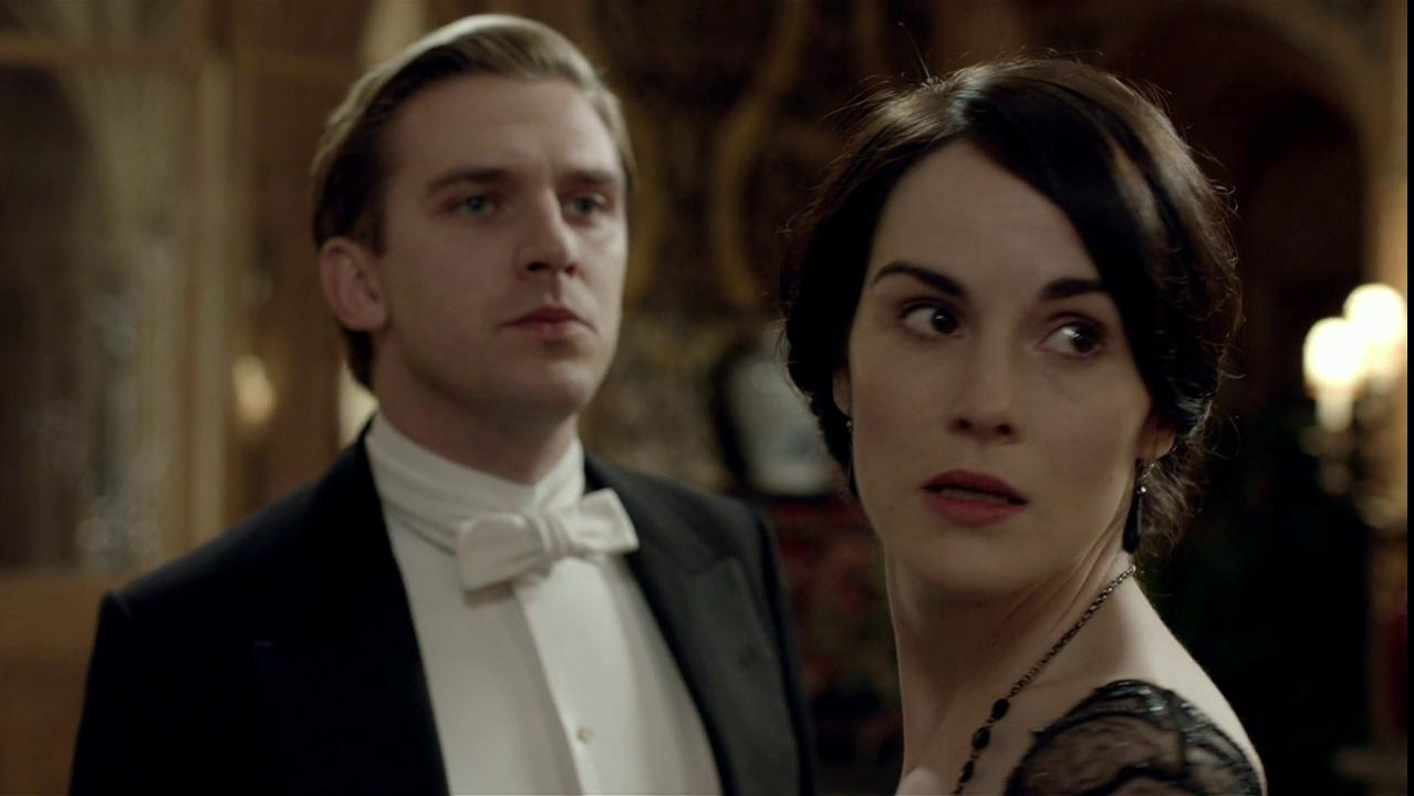 Downton Abbey: Matthew And Lady Mary Discuss Her Impending Marriage.