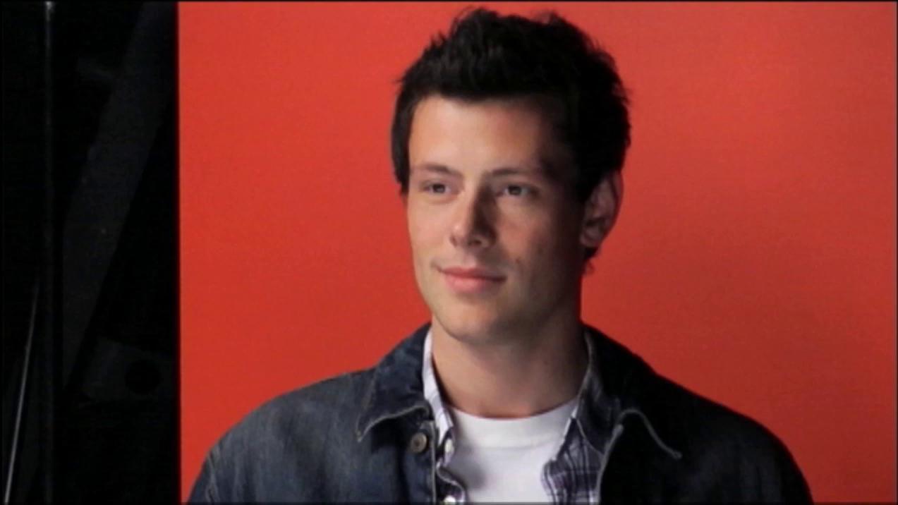 Glee: Flashback Cory Monteith's First Photoshoot
