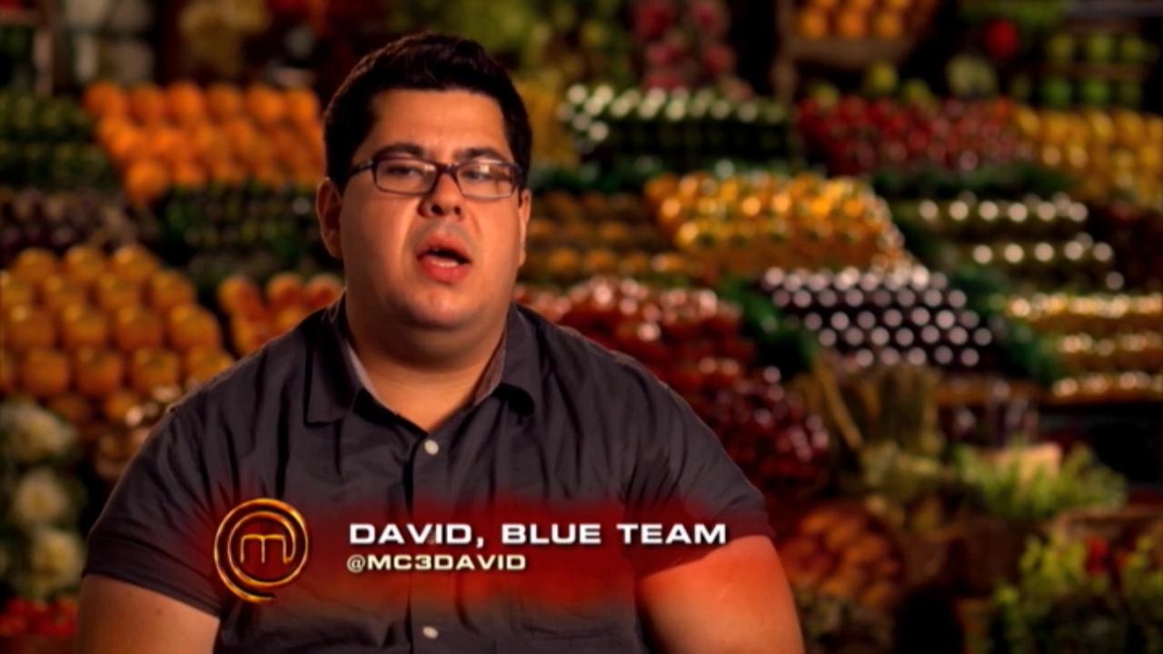 Masterchef: Chef Ramsay Says David Is Shrek Right Now
