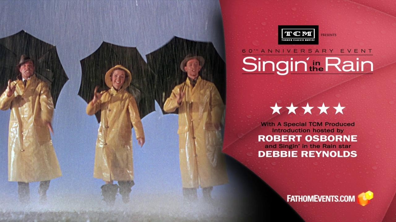 Singin' In The Rain 60th Anniversary Event