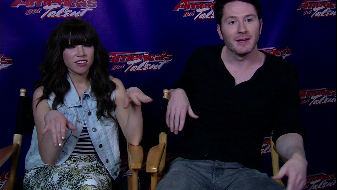 America's Got Talent: Interview Excerpts Carly Rae Jeppen & Adam Young
