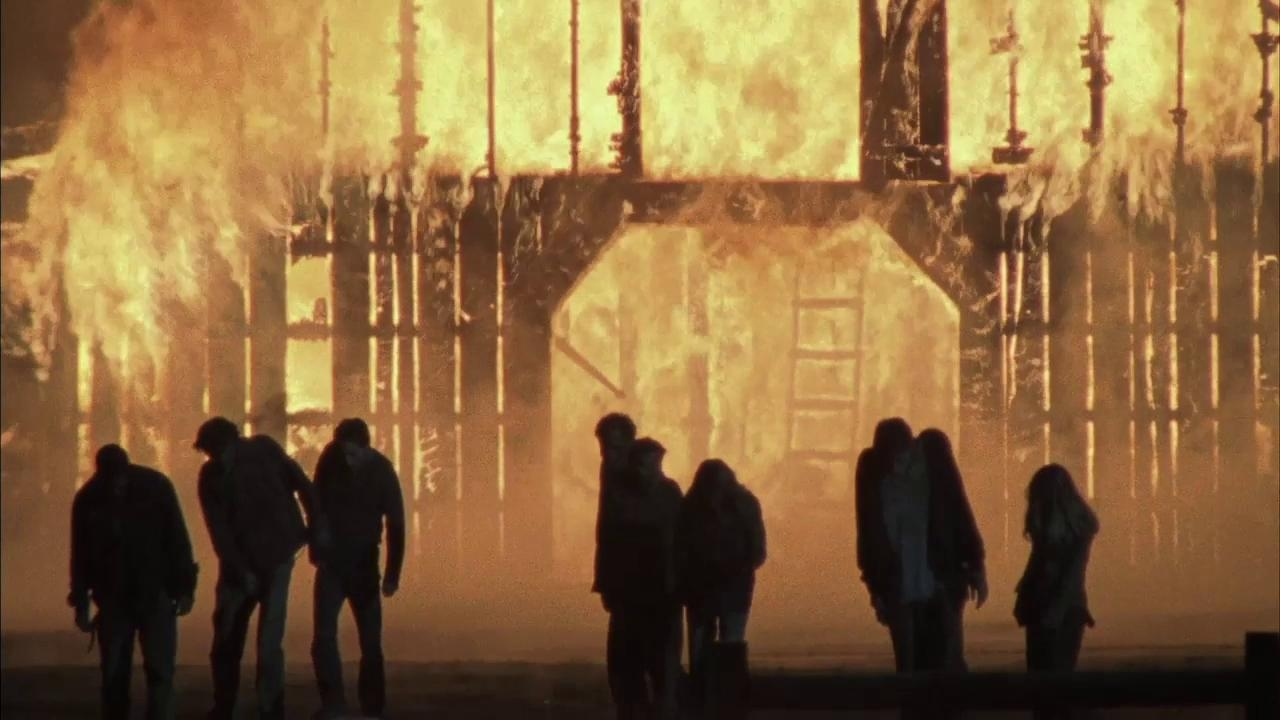 The Walking Dead: Fire On Set