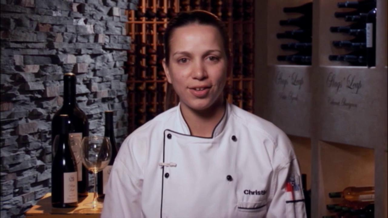 Hell's Kitchen: Chrstina Gets Mad At Dana