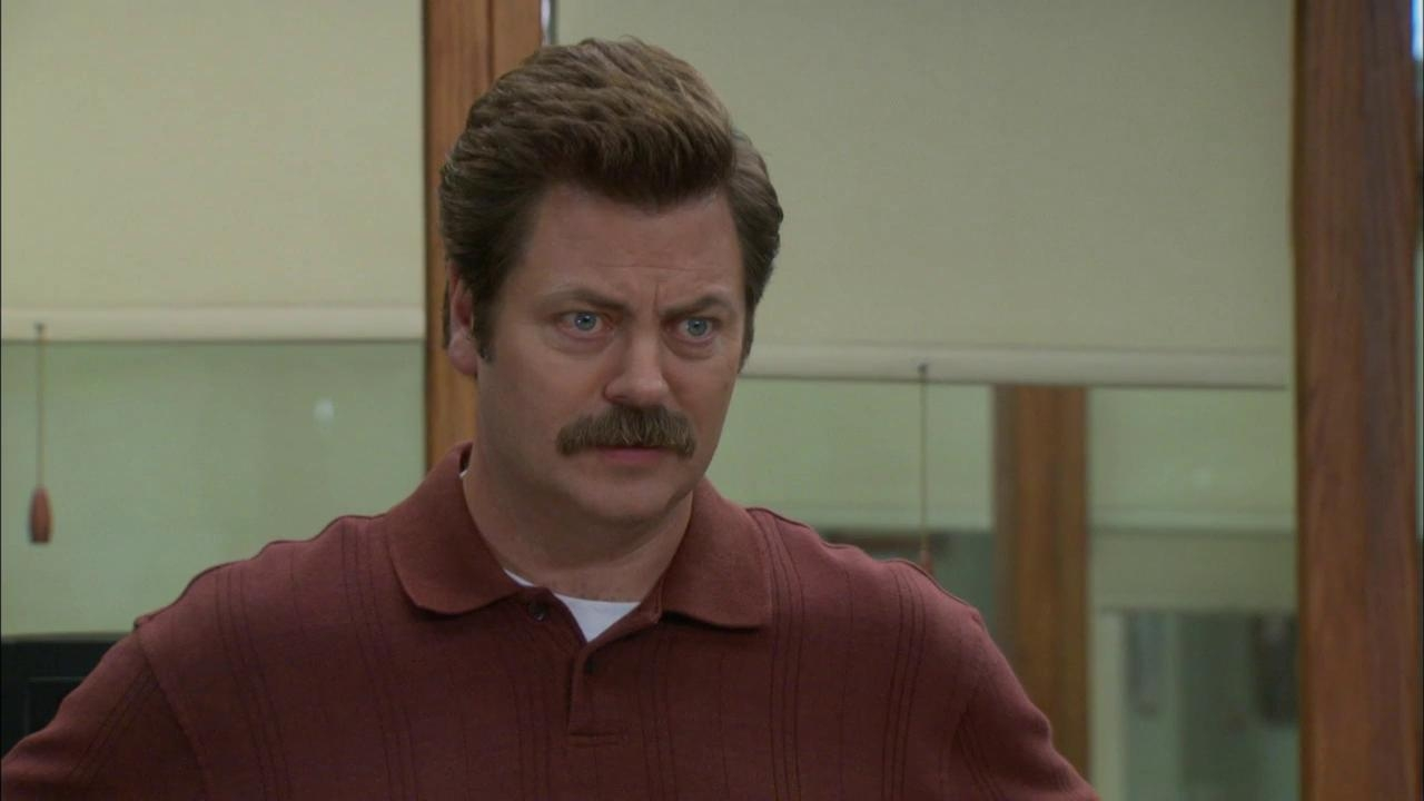 Parks And Recreation: Ron Informs Everyone