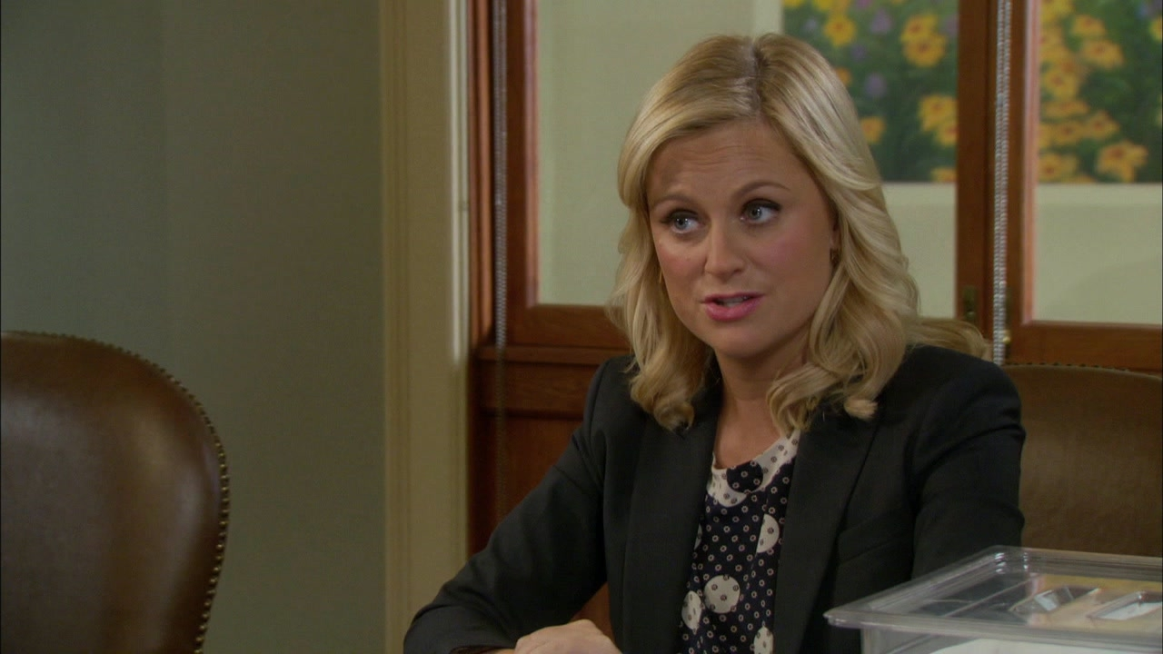 Parks And Recreation: Leslie And Anne Present Their Findings