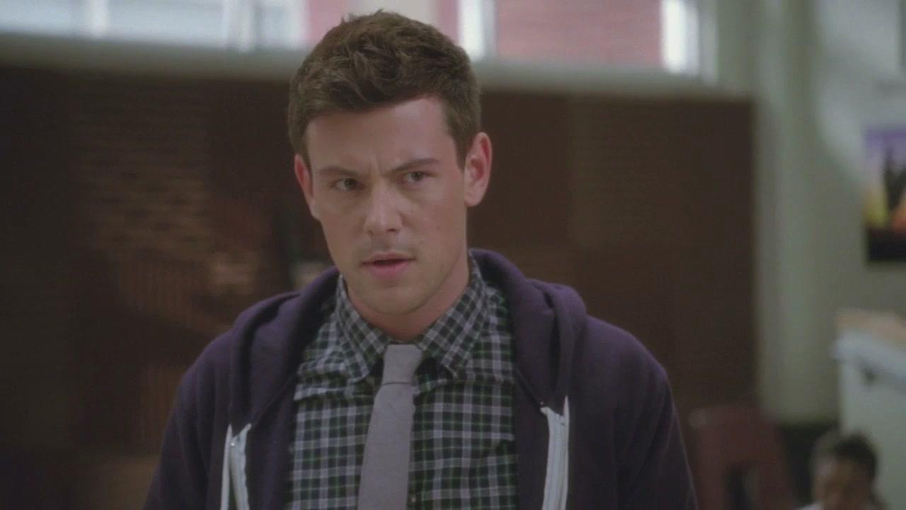 Glee: Finn And Sue Argue