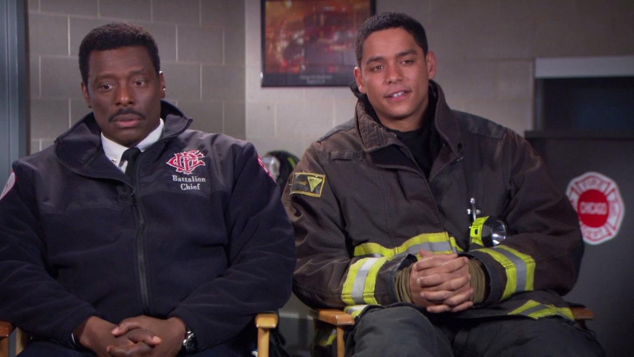 Chicago Fire: Eamonn Walker And Charlie Barnett