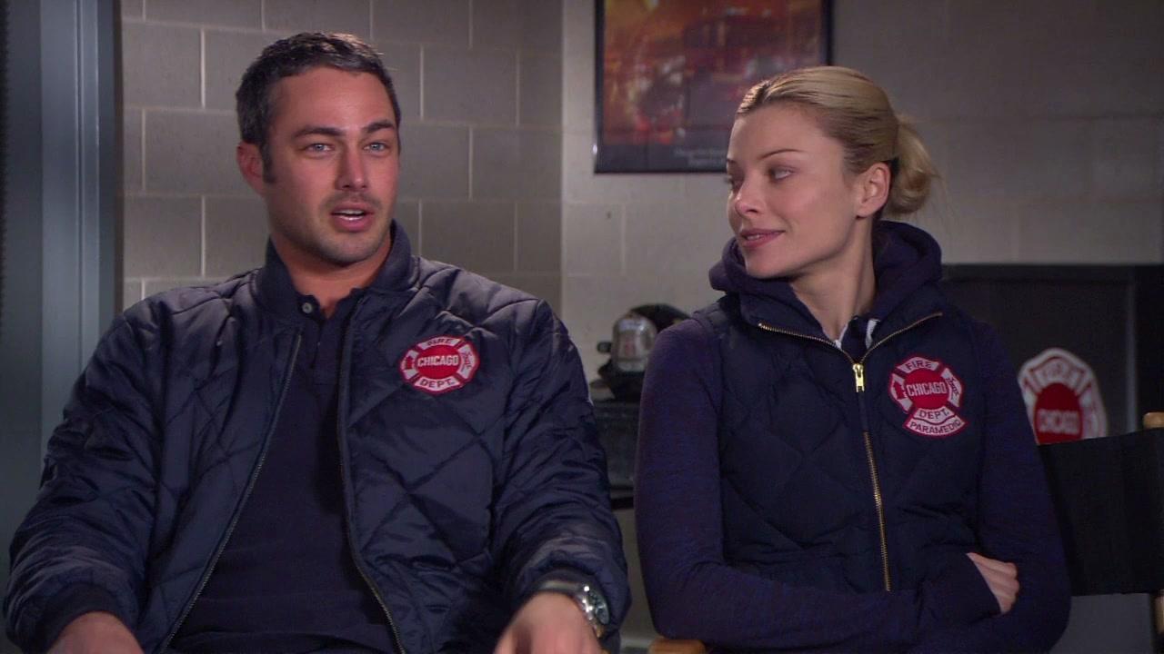Chicago Fire: Interview Excerpts Taylor Kinney And Lauren German