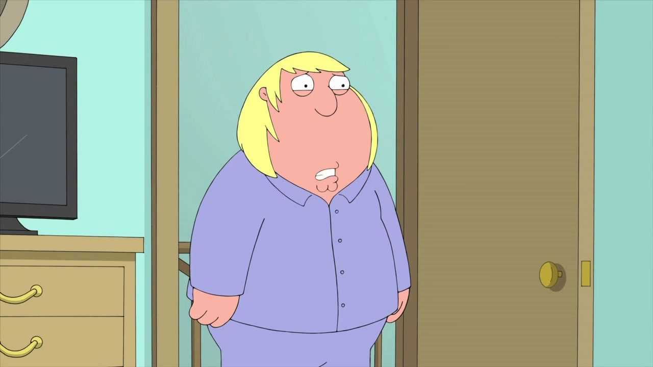 Family Guy: Embarrassed By Chris
