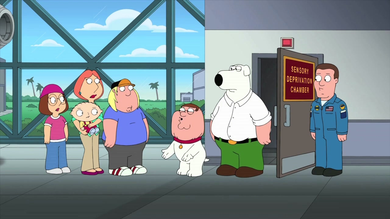 Family Guy: Deprivation Room