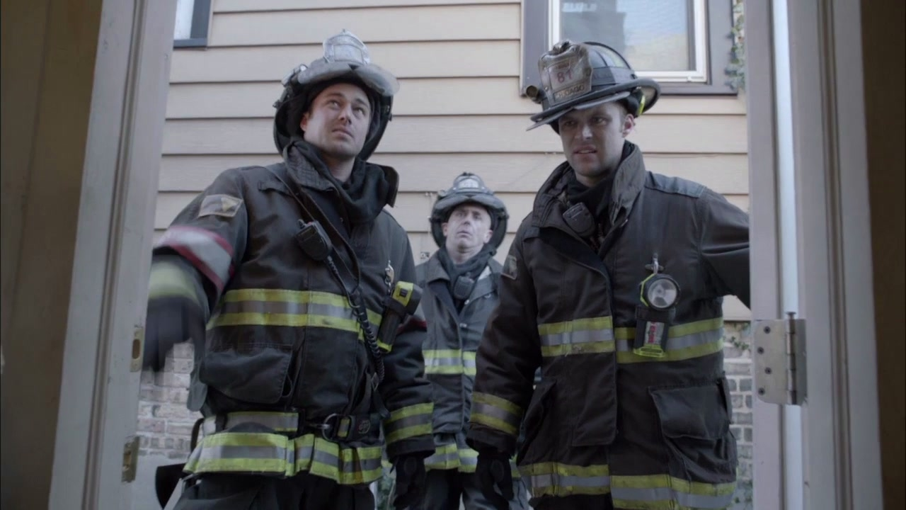 Chicago Fire: Ceiling Fell In