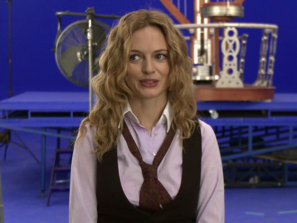 The Flying Machine: Heather Graham Discusses Her Character