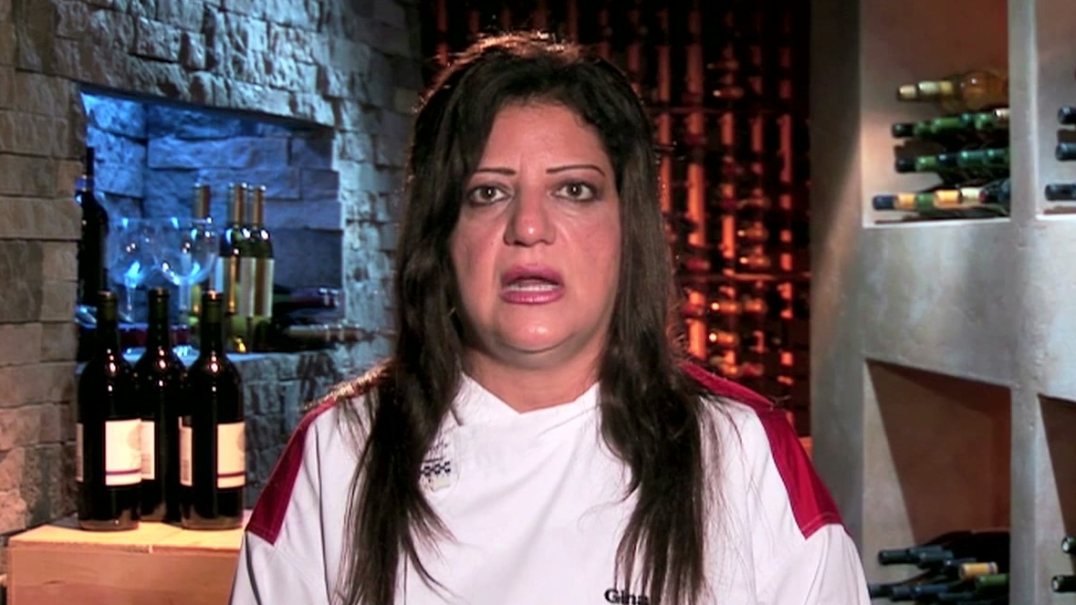 Hell's Kitchen: Gina Cannot Function