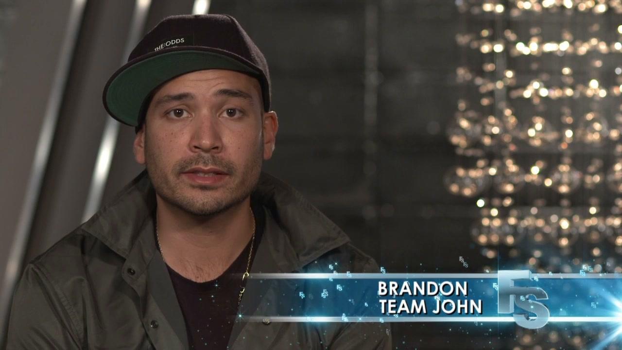Fashion Star: John With Brandon