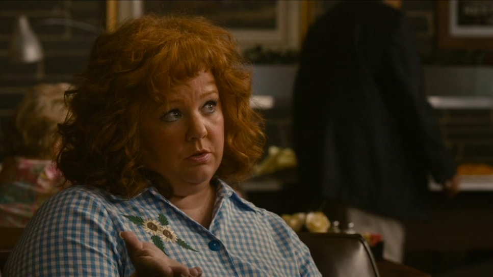 Identity Thief: Diana Orders at Diner (UK)