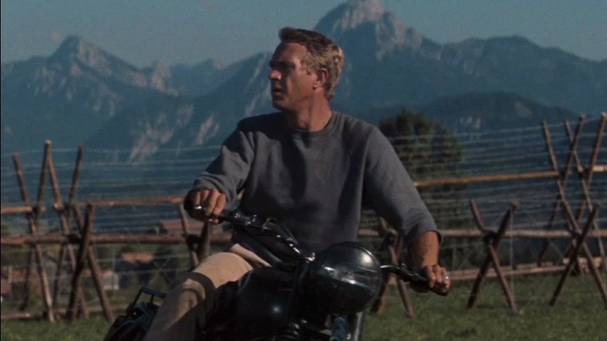The Great Escape: Motorcycle Chase