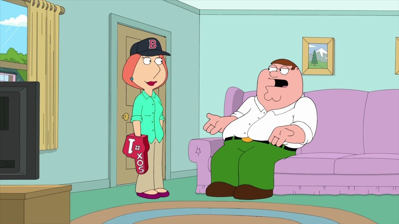 Family Guy: Red Sox Game