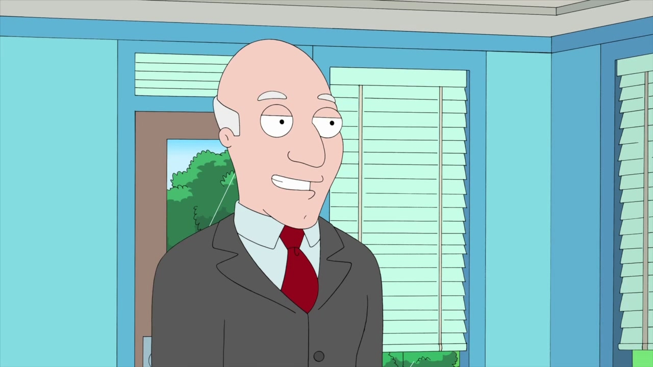American Dad!: The Full Cognitive Redaction of Avery Bullock by the Coward Stan Smith