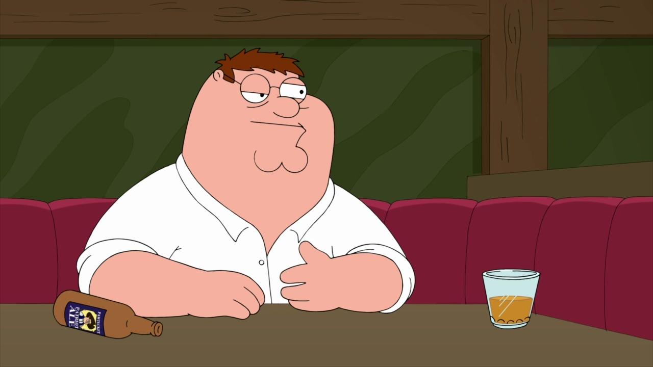 Family Guy: Drunk Peter