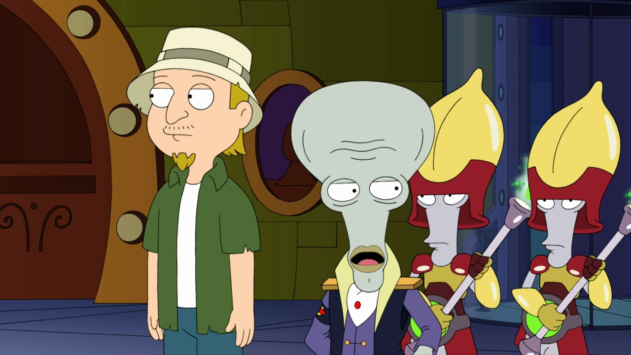 American Dad!: Huge Ship