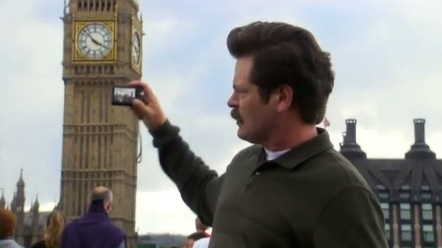 Parks And Recreation: Ron Goes Sightseeing