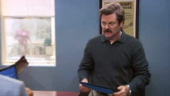 Parks And Recreation: Tom Is Taking Pictures