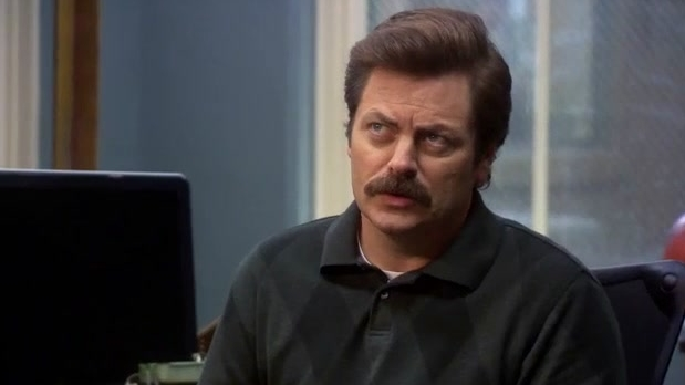 Parks And Recreation: Ron Is Rethinking His Will