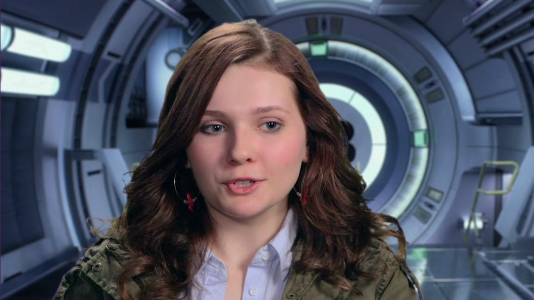 Ender's Game: Abigail Breslin On Being Excited To Read The Script