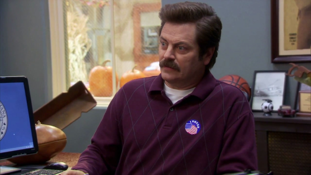 Parks And Recreation: Ron's Chair Is A Hit