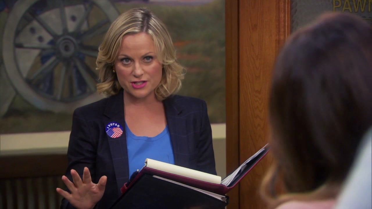 Parks And Recreation: Leslies Planning A Haunted House