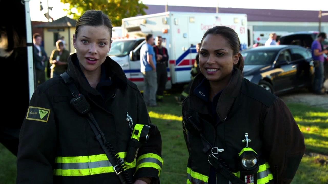 Chicago Fire: Interview Excerpts Lauren German And Monica Raymund