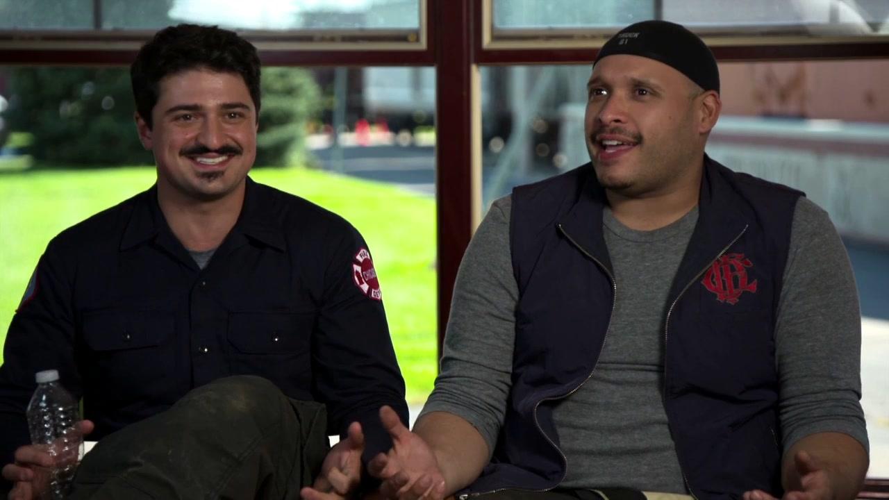 Chicago Fire: Interview Excerpts Yuri Sardarov And Joe Minoso