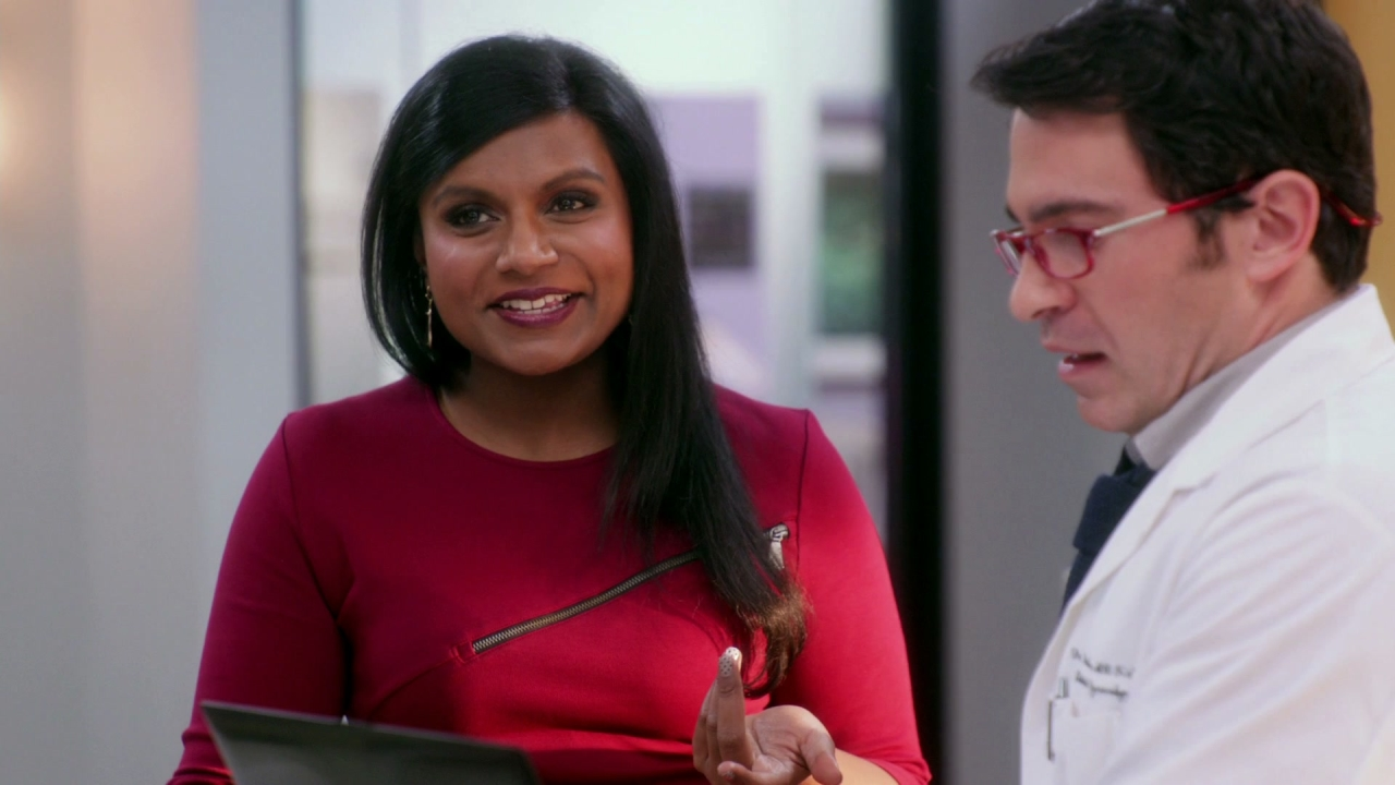The Mindy Project: Red Glasses