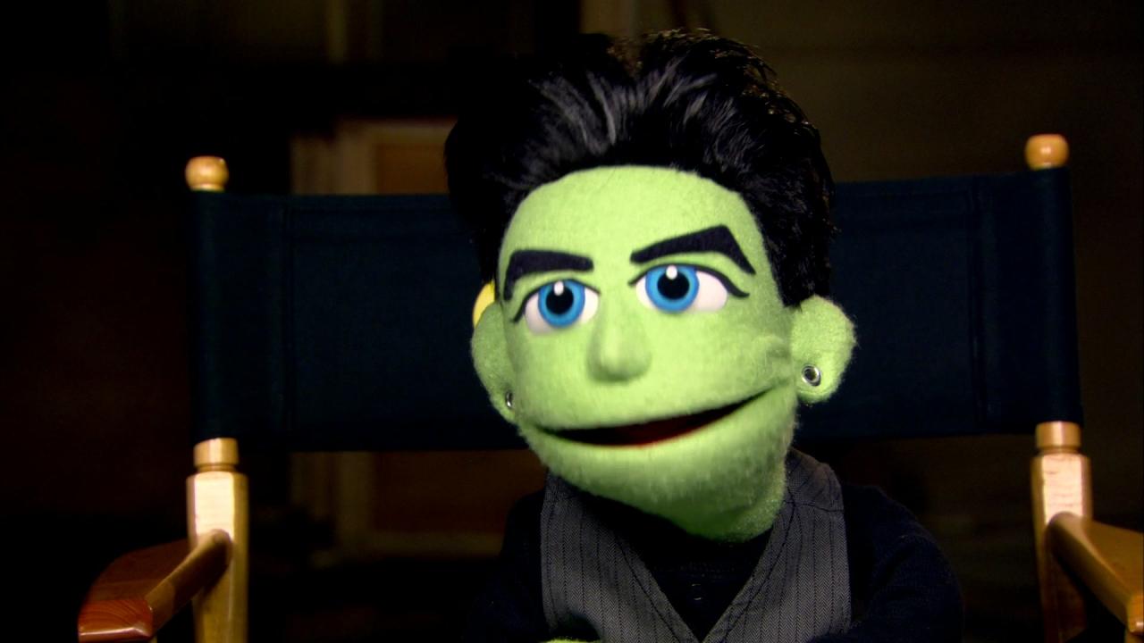 Glee: Sneak Peek Puppet Master